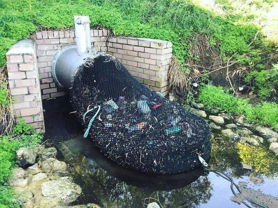 Mallas de recogida de basura en Australia